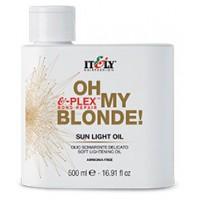 Itely Hairfashion Sun light Oil melírovací olej do 2-3tónov zosvetluje 500ml