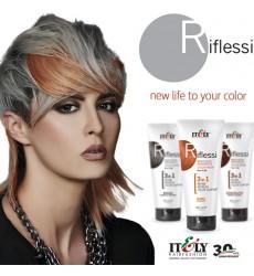 Itely Hairfashion Riflessi 3in1 farebné masky na vlasy 200ml