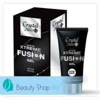 Crystal Nails  XTREME FUSION ACRYLGEL White 30gr