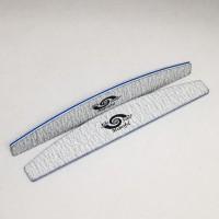 Polmesiacový pilník modrý 100/100